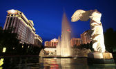A View of Caesars Palace on the Strip, Las Vegas, Nevada — Stock Photo