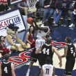Stock Photo: Flagrant Foul of ArizonWildcat Angelo Chol