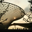 an evening at expo 2010, shanghai, china — Stock Photo