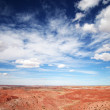 An Aerial View of the Painted Desert — Stock Photo