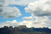 A View of the Organ Mountains, East of Las Cruces — Stock Photo
