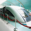 Stock Photo: Shanghai Transrapid Maglev, or Bullet, Train