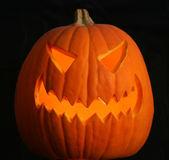 A Scary Jack-o-lantern — Stock Photo