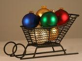 Un trineo de bolas — Foto de Stock