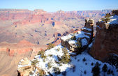 A Grand Canyon View from Yaki Point — Stock Photo