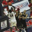 Постер, плакат: A Fouled Arizona Wildcat Solomon Hill