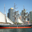 Stock Photo: A View of the Star of India Merchant Sailing Ship