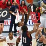 ������, ������: A Tipoff in an Arizona Basketball Game