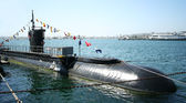 A Diesel-electric Submarine, the USS Dolphin — Stock Photo