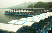 A Paddle Boat Dock at the Summer Palace — Stock Photo