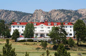 A View of the Stanley Hotel, Estes Park, Colorado — Photo