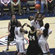 Battle for Rebound by ArizonWildcat Kevin Parrom — Stock Photo #8552912