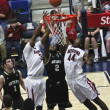 Battle for Rebound by ArizonWildcats Parrom and Hill — Stock Photo #8552928