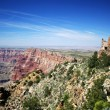 Desert View Point Watchtower, Grand Canyon, Arizona — Stock Photo