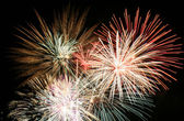 4th of July Fireworks, The Grand Finale — Stock Photo