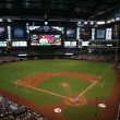 Chase Field in Phoenix, Arizona, Home of the Arizona Diamondbacks - Stock Photo