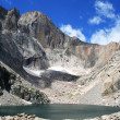 Chasm Lake at base of Longs Peak, Rocky Mountain National Park, Colorad — Stock Photo #8599845