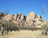 Dragoon Mountains, Arizona — Stock Photo