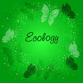 Ecological background — Stock Vector