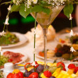 Wedding dinner — Stock Photo #8110922