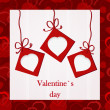 Valentine`s card — Stockfoto