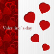 Valentine`s card - I love you - Stock Photo
