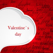Valentine`s card — Foto Stock