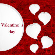 Valentine`s card — Stock Photo #8730701