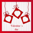 Valentine`s card - Stock Photo