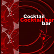 Template of a cocktail bar - Stock Photo