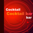 Template of a cocktail bar — Stock Photo