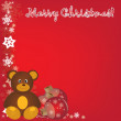 Merry christmas 2012 new year  Backgrounds for  print — Stock Vector