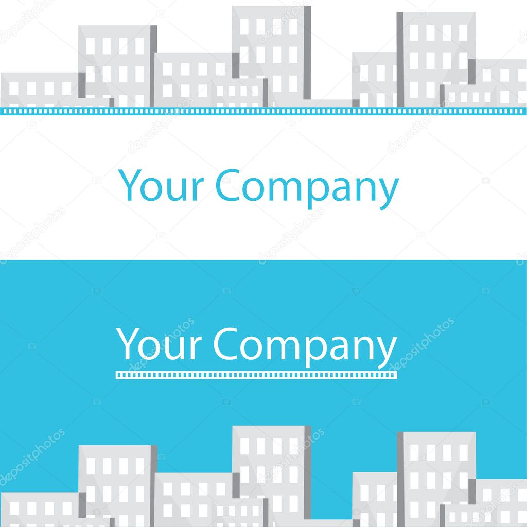 Real estate business cards for your company — Stock Vector © vip76 ...