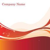 Rood goud en wit abstract achtergrondstructuur — Stockvector