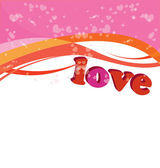 Valentine.postcards for your love frends — Stock Vector