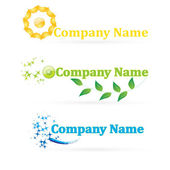 Creative and design Logos for your company — Stock Vector