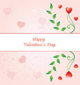 Valentines Day Illustrations for Celebrations happy and love — Stock Vector