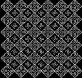 様々 な目的のための美しい黒の飾り — ストックベクタ