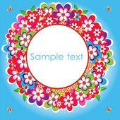 Spring blank Illustration for web print more — 图库矢量图片