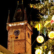 Christmas and New Year Eve atmosphere on Old Town Square in Prague — Stock Photo #8267144