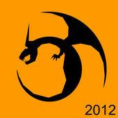 Dragon 2012 — Stock Vector