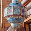 Stock Photo: Oriental chandelier, Esfahan, Iran