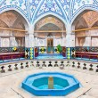 Sultan Amir Ahmad historic bath,  Iran - Stock Photo