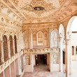 Interior of The Magnificent Khan-e Tabatabei historic house, Kashan, Iran - Stock Photo