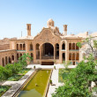 Khan-e Borujerdi historic old house,Kashan, Iran — Stock Photo