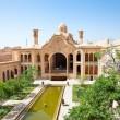 Khan-e Borujerdi historic old house,Kashan, Iran — Stock Photo #9174851