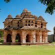 Lotus mahal of Zanana Enclosure at ancient town Hampi, India — Stock Photo