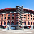 View of bullring Arenas de Barcelona - Stok fotoraf