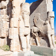 Entrance gate to historical complex, ancient city of Persepolis — Stock Photo