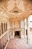 Interior of The Magnificent Khan-e Tabatabei historic house, Kashan, Iran — Stock Photo